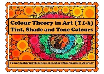 Art: Colour Mixing Activities - Tint, Tone, Shade