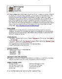 Art Course Outline - Editable
