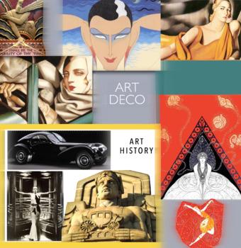 Art Deco Movement ~ Art History ~ FREE POSTER