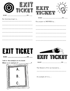 Art Exit Tickets