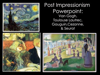 Art History-Post Impressionism