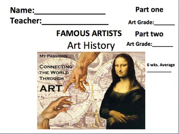 Art History any time or END OF THE YEAR