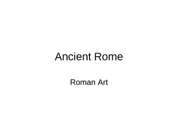 Art History powerpoint-Textbook-Art in Focus, 2001. Chapter 9