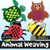 Art Lesson: Animal Paper Weaving