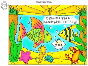 Art Lesson, Creation - Sea Life