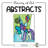 Art Lesson: Elements Abstracts