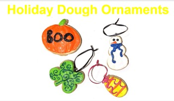Art Lesson: Holiday Dough and Clay Ornaments