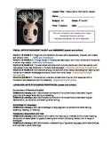 Art Lesson Plan - Milk Carton Mask