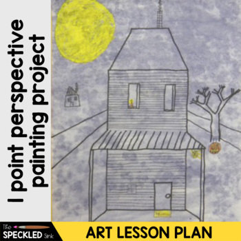 Art Lesson Plan. Elementary Lesson. One Point Perspective