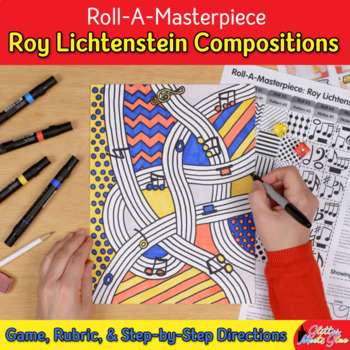 Art Lesson: Roy Lichtenstein Art History Game {Art Sub Pla