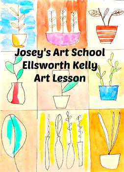 Art Lesson Teach Ellsworth Kelly to your Students K-6 Foli