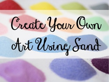 Art Lesson Using Sand and Paint for Elementary Art