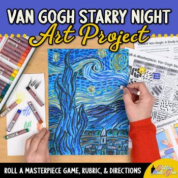 Art Lesson: Van Gogh Starry Night Art History Game {Art Su
