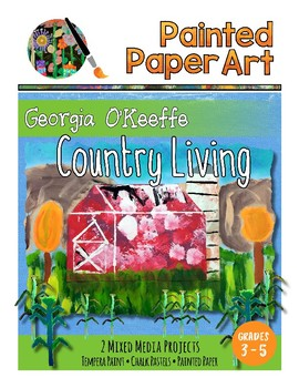 Art History Lessons: Georgia O'Keeffe -Country Living Barn