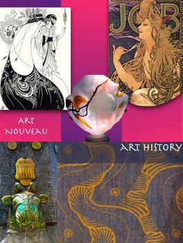 Art Nouveau ~ Free Poster ~ Art History