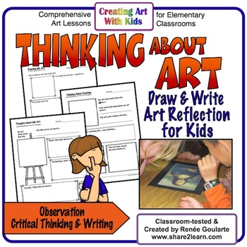 Art Observation - Thinking, Drawing, and Writing About Art