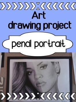 Art - Pencil Portrait HALF/HALF project