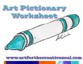 Art Pictionary Activity
