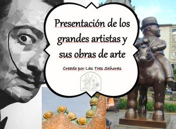 Art Presentation for the Spanish Classroom