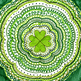 Art Project: Shamrock Concentric Patterns