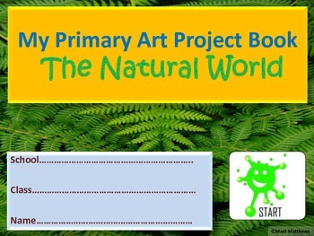 Art Resource. Art Project Book for Grade 3 to 5 Students.