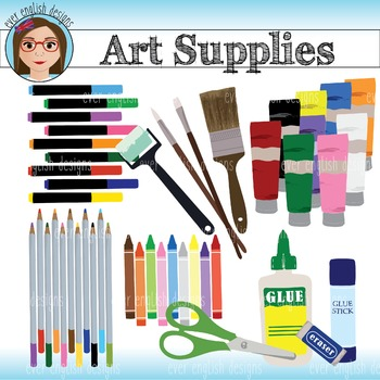 Art and Craft Supplies Clip Art