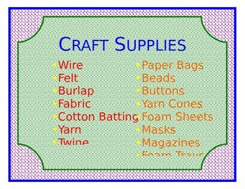 Art Supply Cabinet List 2