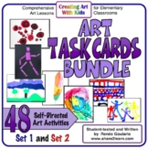 Art Task Cards Bundle
