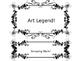 Art-Themed Behavior Clip Chart
