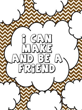 Art Therapy Counseling Lesson Plan: Friendship: I Can Make