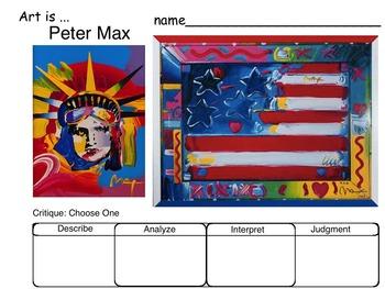 Art Critique of Patriotic USA Art (Britto, Max, Rodrigue,