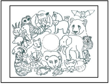 Art Science ... Endangered Animals Earth Day Coloring Page