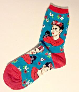 Art is   Frida Kahlo Trouser Socks - Spice Up Your Classro