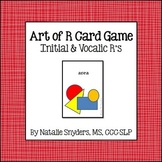 """""""Art of R"""" Card Game - For Speech Language Therapy - Articulation"""