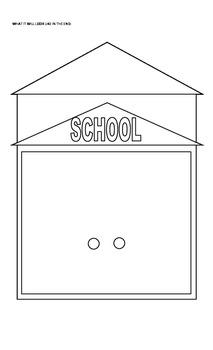 Art, Language- Back To School House
