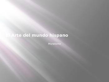 Arte del Mundo Hispano - Muralismo - Nuevas Vistas Curso P