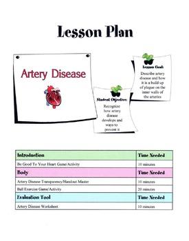 Artery Disease Lesson