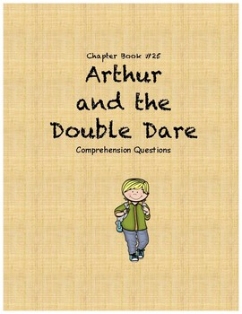 Arthur and the Double Dare comprehension questions