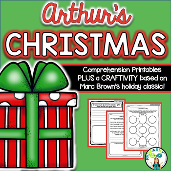 Arthur's Christmas {Comprehension Printables & CRAFTIVITY!}