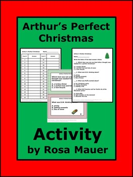 Arthur's Perfect Christmas Reading Comprehension
