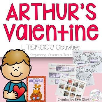 Arthur's Valentine: Language Arts Activities {Common Core