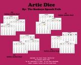Artic Dice 1: /K, G, F, V/ Articulation Practice for Speec