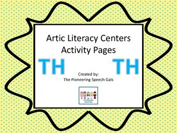 Artic Literacy Centers Activity Pages for TH