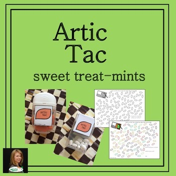 Artic Tacs for Sweet Speech Treat-mint