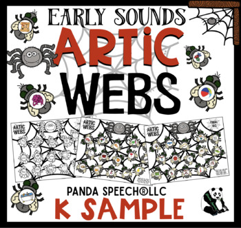 Artic Webs: Speech Therapy FREEBIE