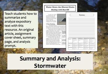 Summary and Analysis: Stormwater