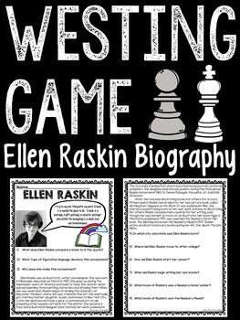 Article on Ellen Raskin, author of The Westing Game with q
