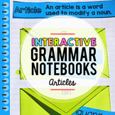 Articles Interactive Notebook
