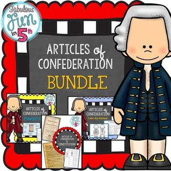 Articles of Confederation BUNDLE