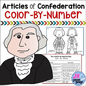 Articles of Confederation - Color-By-Number